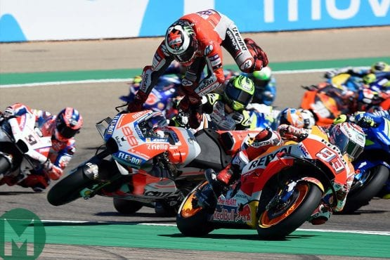 MotoGP: gentlemanly or full of vicious passions?