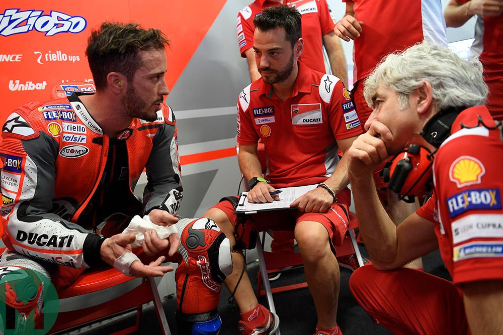 Dovizioso andGiribuola: MotoGP's best pitlane partnership?