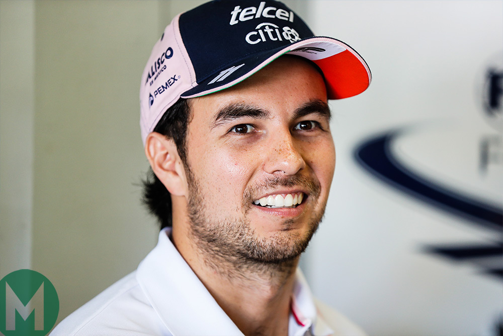 Sergio Pérez re-signs with Racing Point Force India for 2019