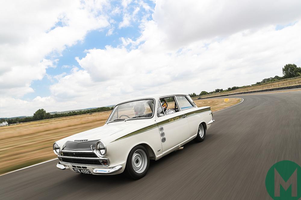 Gallery: Seb and Andy Priaulx drive an ex-Jim Clark Lotus Cortina