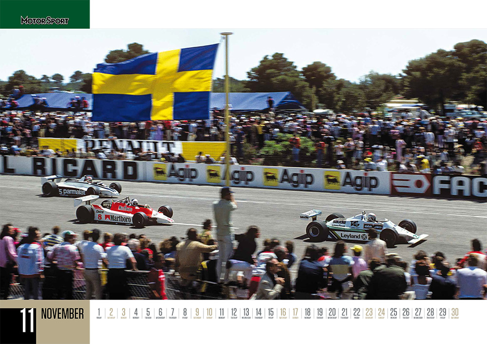 The only 2019 motor sport calendar you'll need