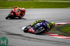 Rossi: 'we've stopped thinking about performance'