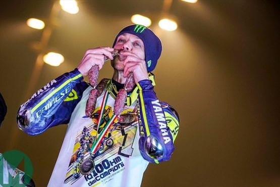 Valentino Rossi's annual dirt-track race: 'The prize is pride!'