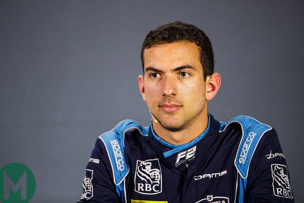 Williams signs Nicholas Latifi