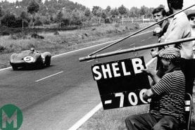 Watch: Carroll Shelby wins Le Mans with Aston Martin