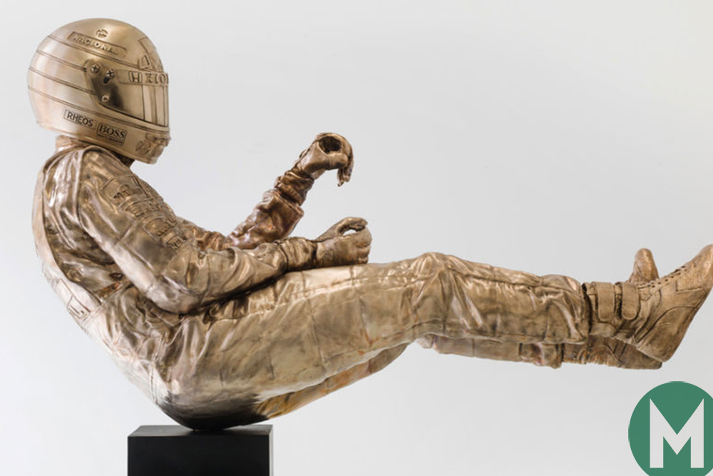That life-size bronze Senna statue costs £200k