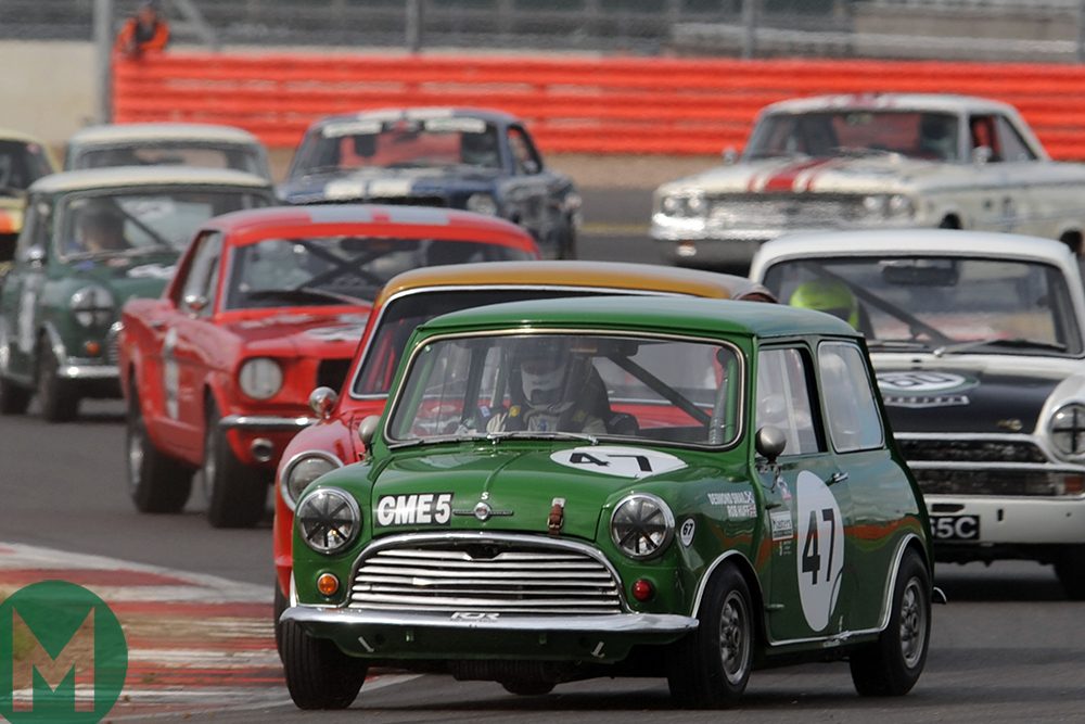 Silverstone Classic to celebrate Mini