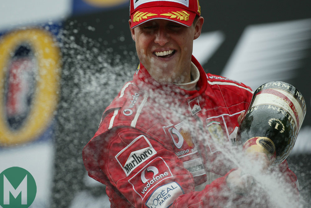 Michael Schumacher: thoughts on a racing colossus