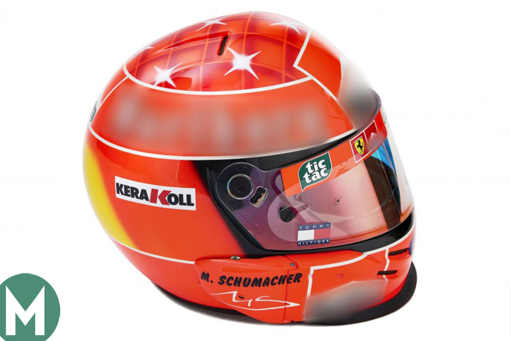 """Schumacher kit leads the way at """"the greatest ever F1 memorabilia sale"""""""