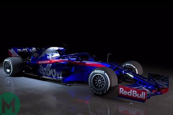 Updated: Toro Rosso reveals its 2019 Formula 1 car