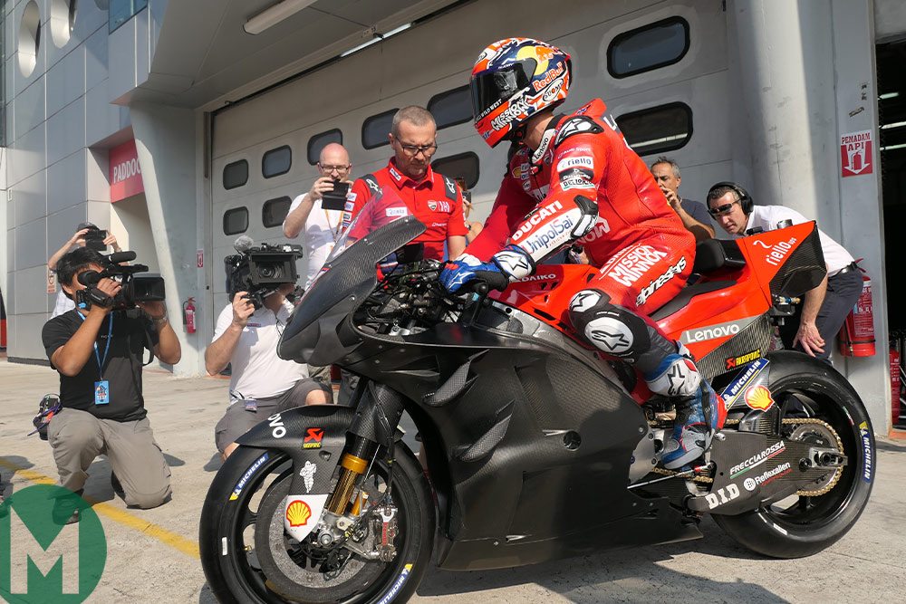 MotoGP Mutterings: Ducati locks out first test