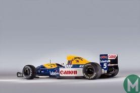 Nigel Mansell's F1 championship-winning Williams FW14B sells for £2.7m