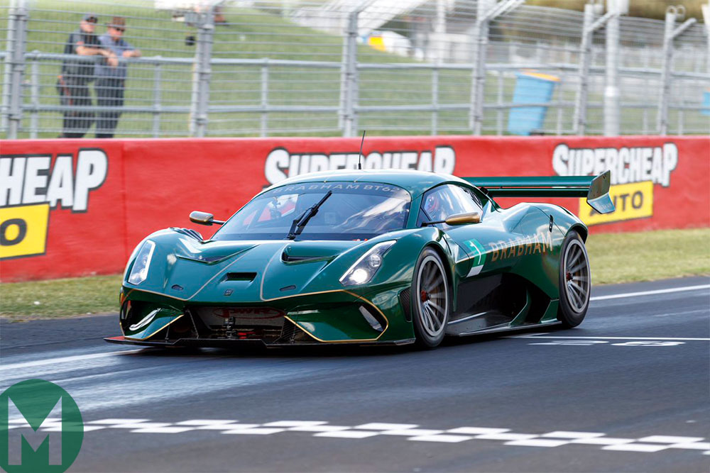 Watch: Brabham sets Bathurst record