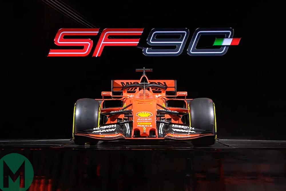SF90 F1 Ferrari car