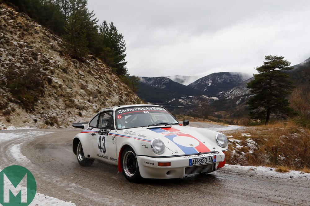 1976 Porsche 911 RS Monte Carlo Historic