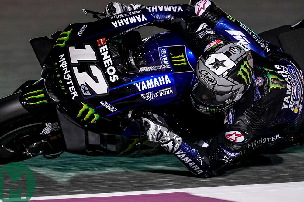 MotoGP testing Viñales