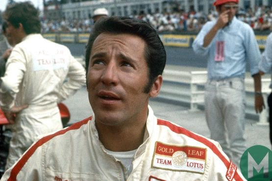 "Watch Mario Andretti recall his ""biggest test"""