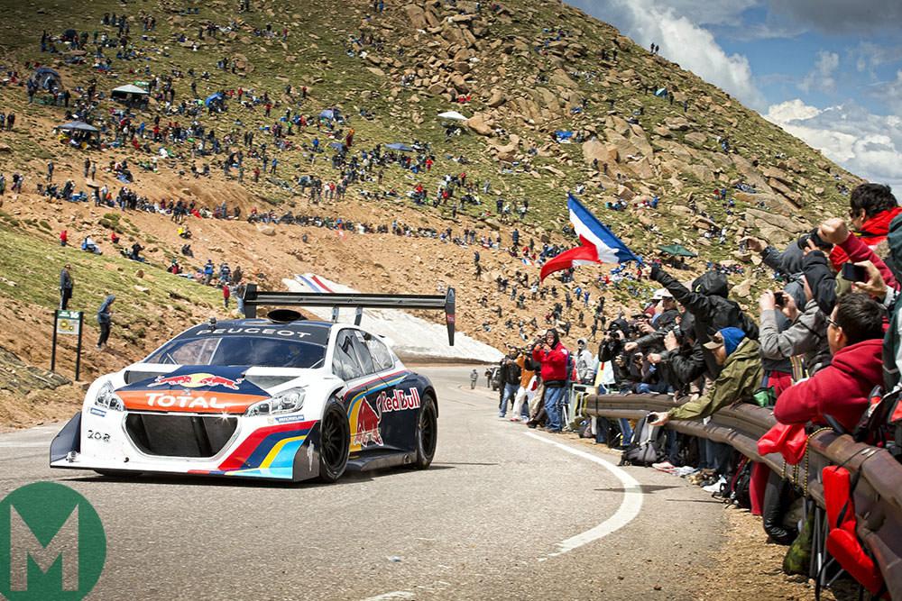 Watch Sébastien Loeb smash the Pikes Peak record
