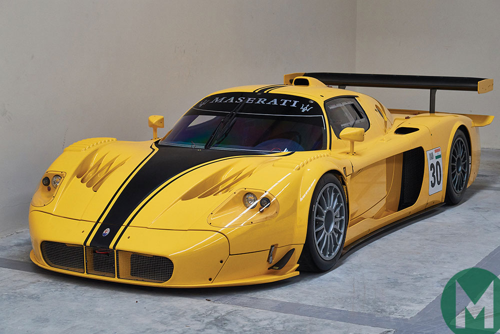 Maserati's all-out MC12