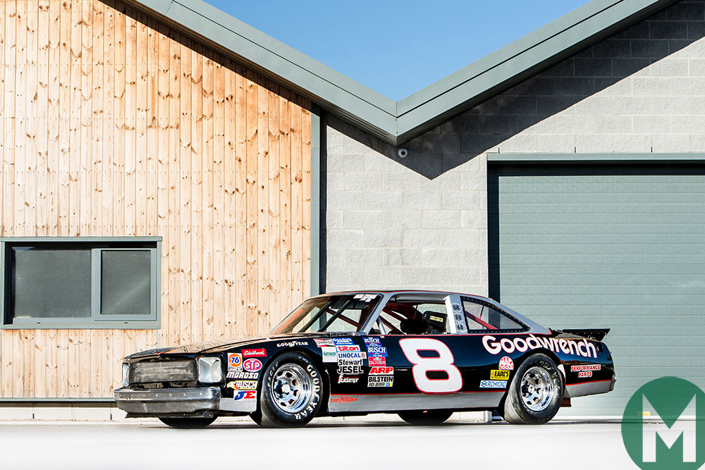 Updated: Earnhardt's NASCAR Chevy