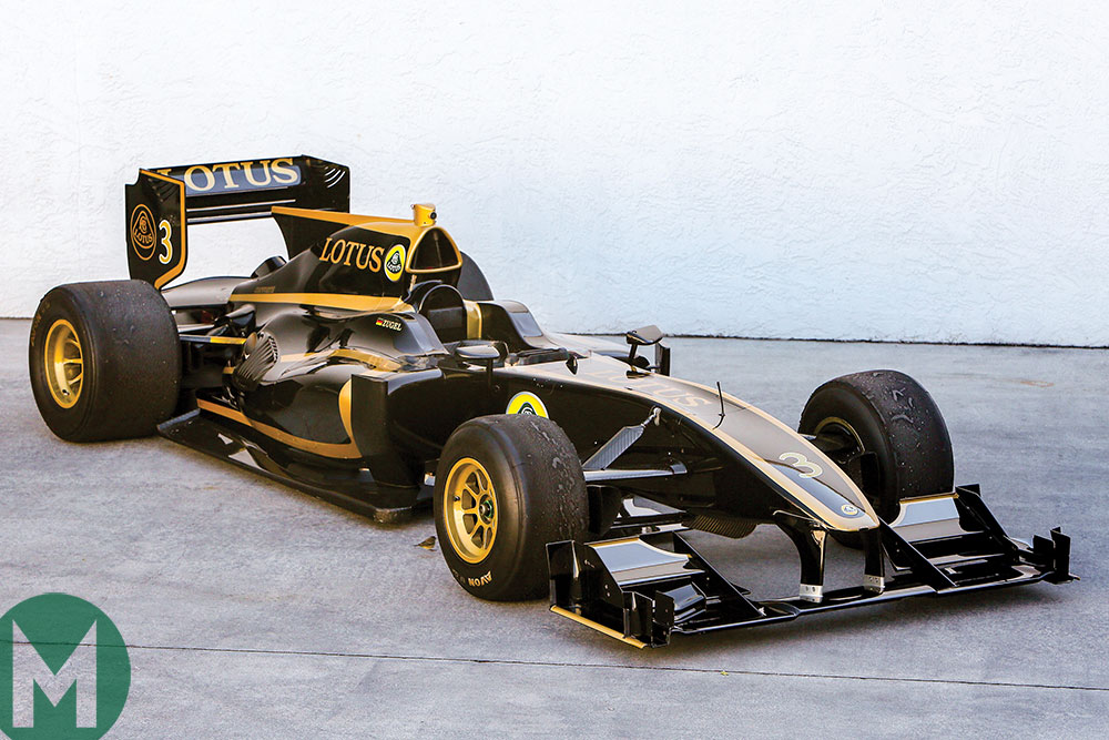 The Lotus offering F1 to the rest of us, updated