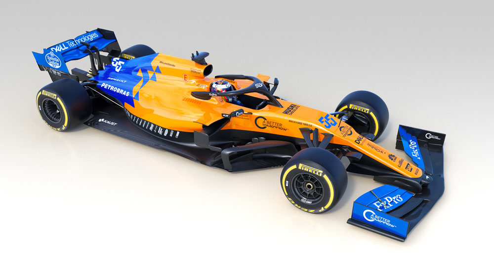 McLaren reveals MCL34 2019 Formula 1 car