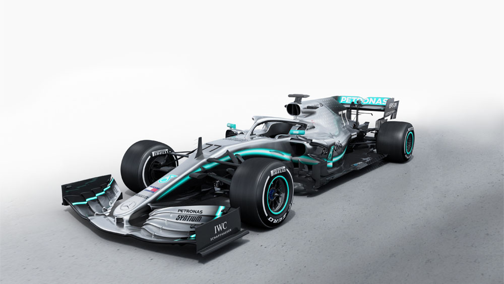 Updated: Mercedes unveils 2019 W10 F1 car
