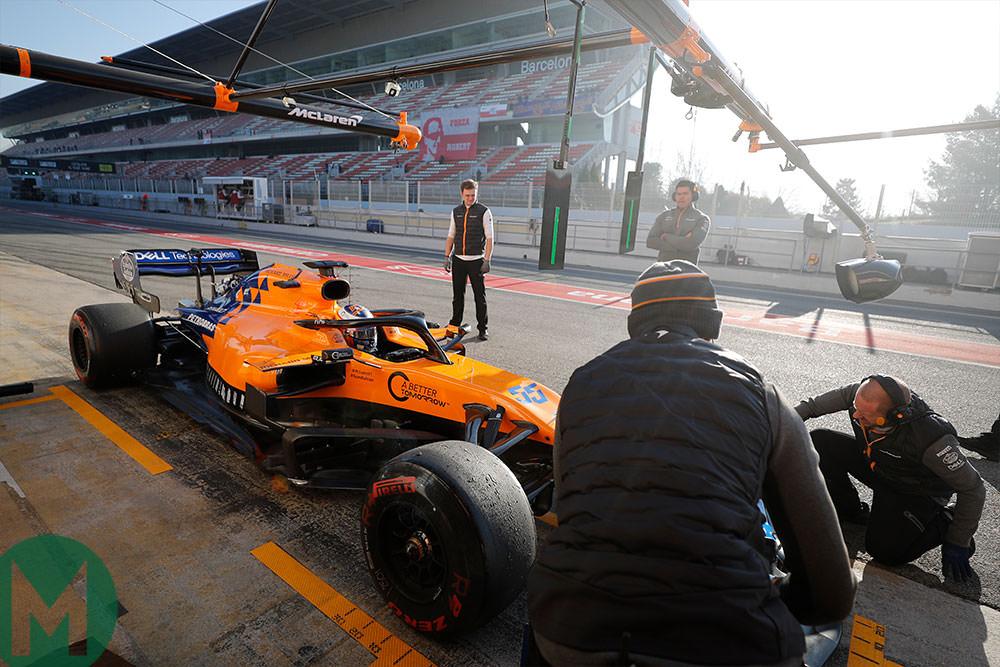 Carlos Sainz fastest in day2 of second f1 preseason test