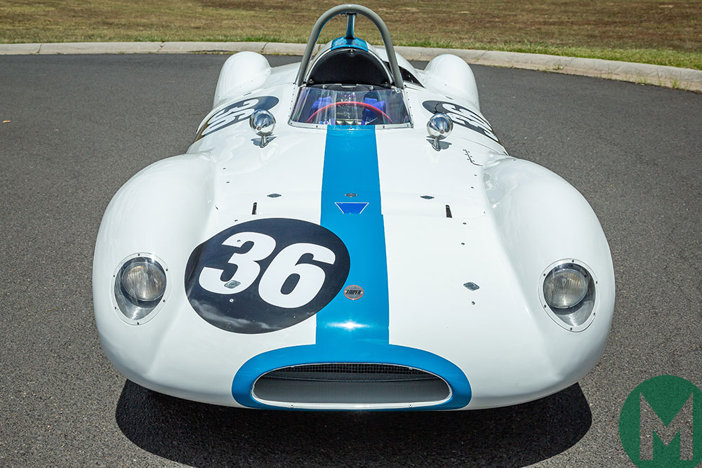 Cooper-Climax Bobtail T39 for auction