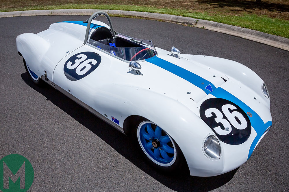 Cooper-Climax T39 Bobtail exported to Australia by Sir Jack Brabham