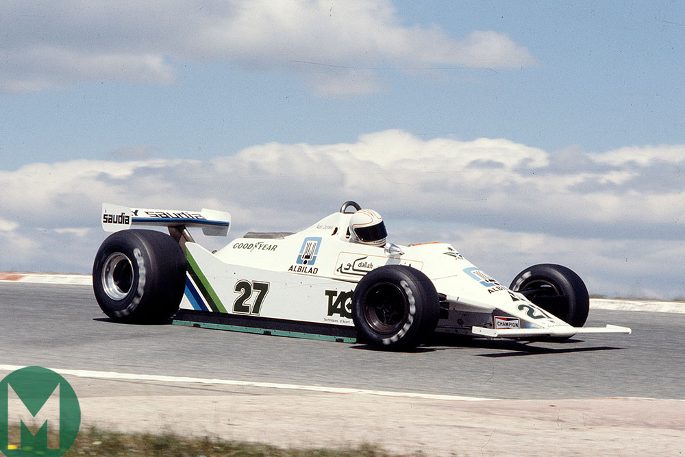 When F1 teams were fashionably late