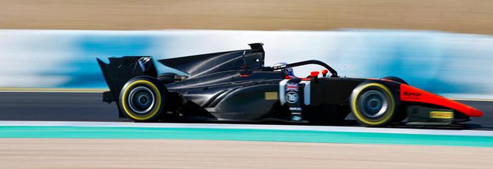 Jordan King MP Motorsport F2