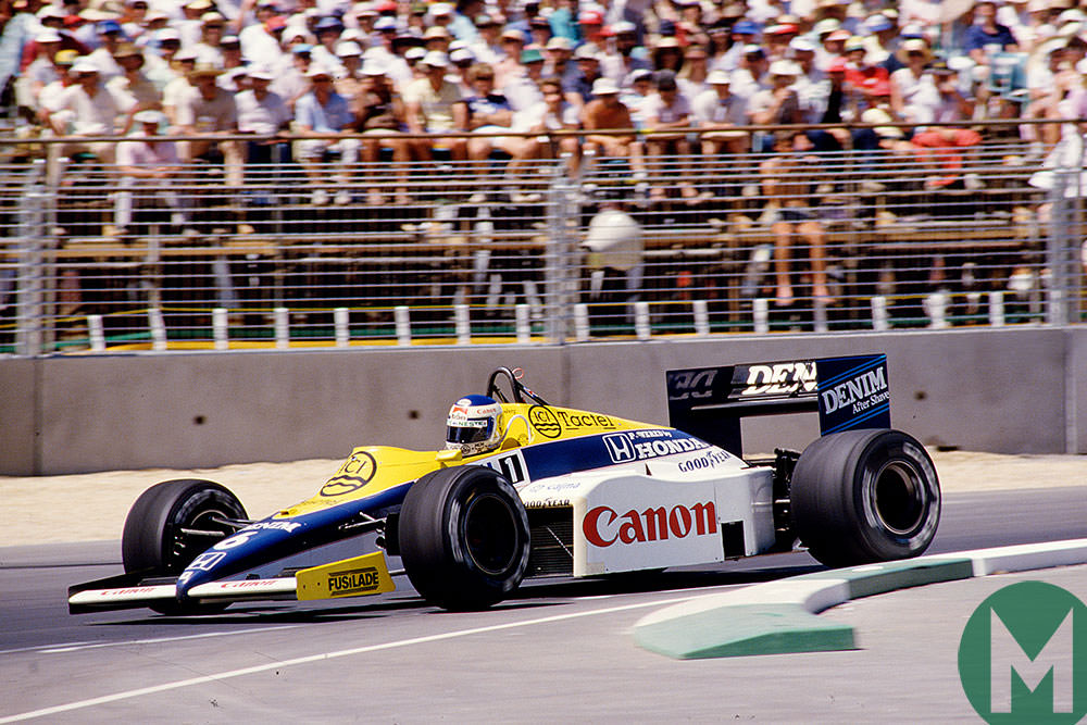 1985 Australian Grand Prix Rosberg