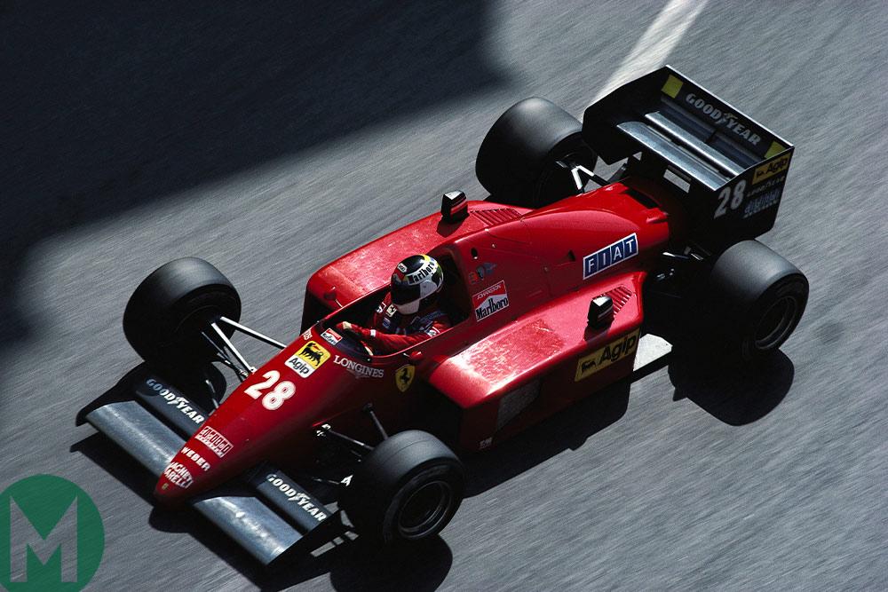 Stefan Johansson F1 1986 Monaco