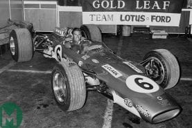 When F1 had its first tobacco spat