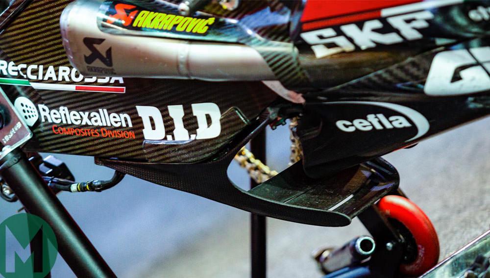 Ducati aero device Qatar MotoGP 2019