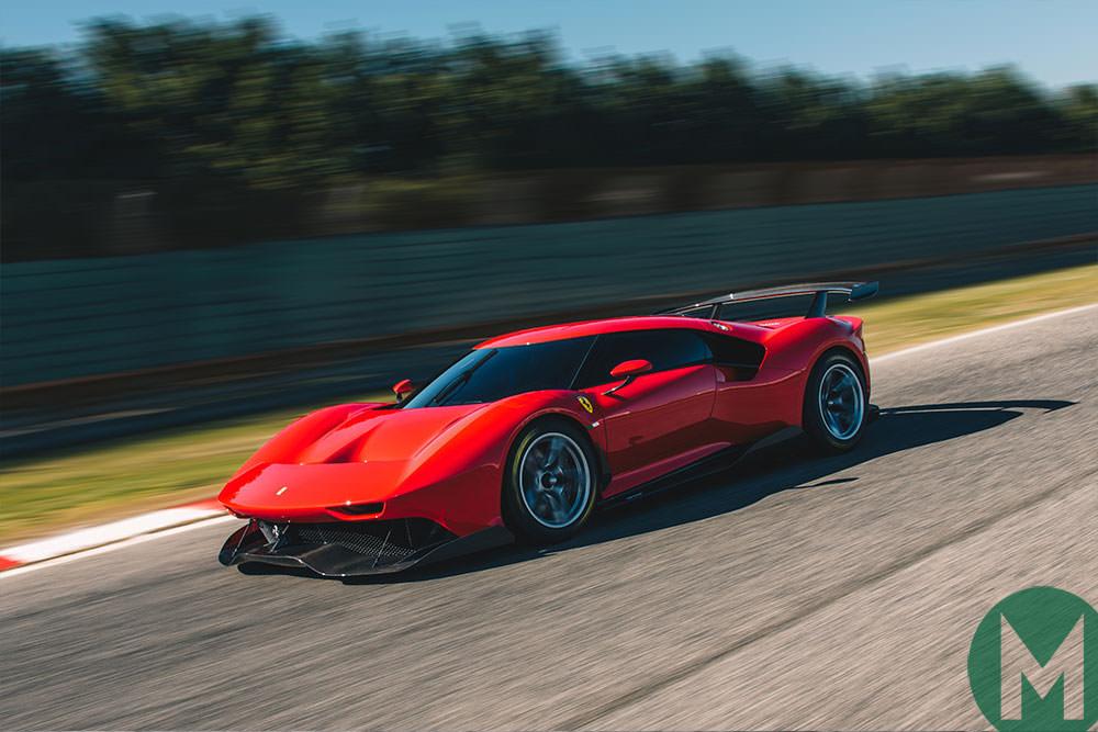 The Ferrari P80/C