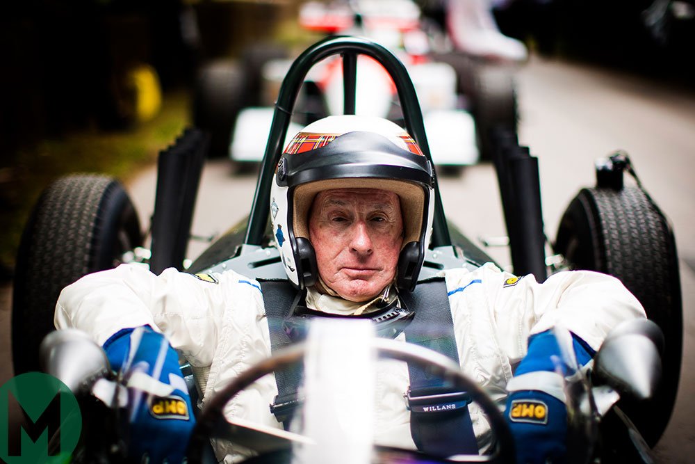Sir Jackie Stewart at the Festival of Speed