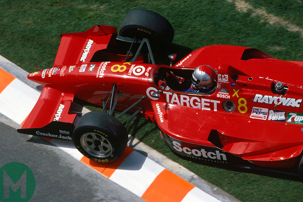 The win that set many Indycar milestones