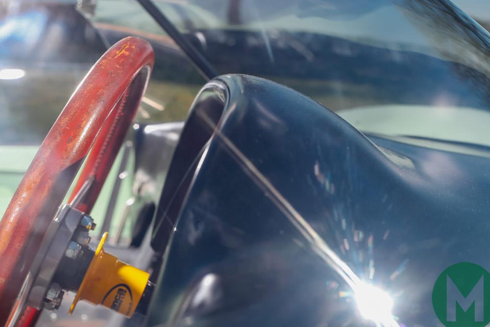Lotus 19 steering wheel