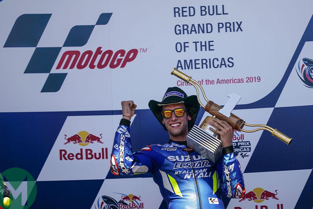 2019 COTA podium MotoGP