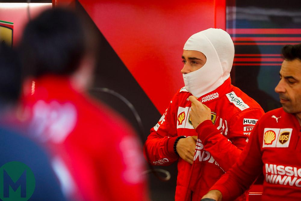 Charles Leclerc 2019 F1 Baku