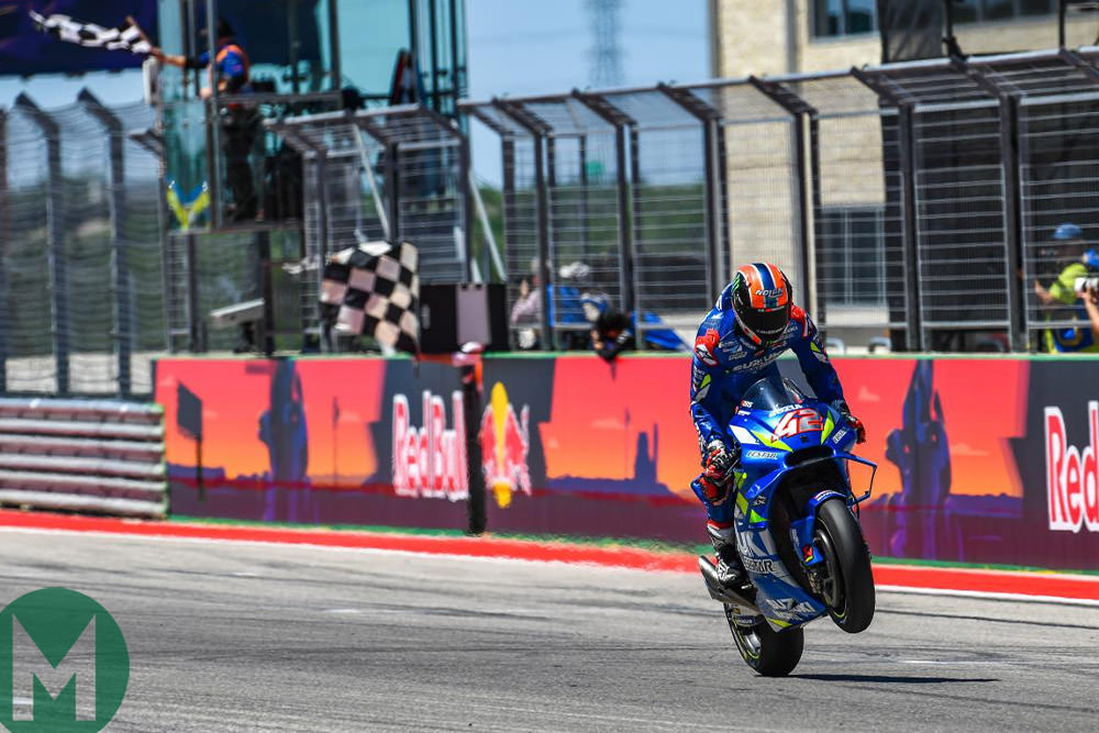 Alex Rins 2019 MotoGP COTA