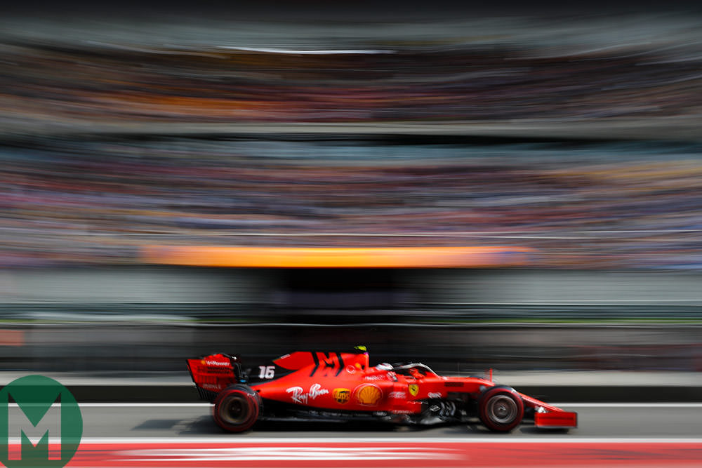 Ferrari primed for Baku F1 bout