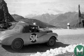 Tour Auto honours Sunbeam, Healey and Frazer Nash