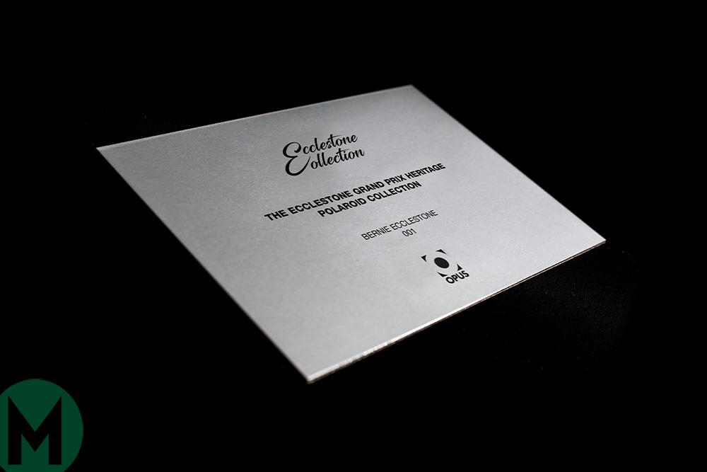Ecclestone Grand Prix Heritage Collection Polaroids Opus