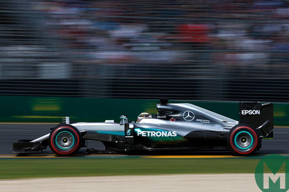 Hamilton's F1 Mercedes to star at Sonoma