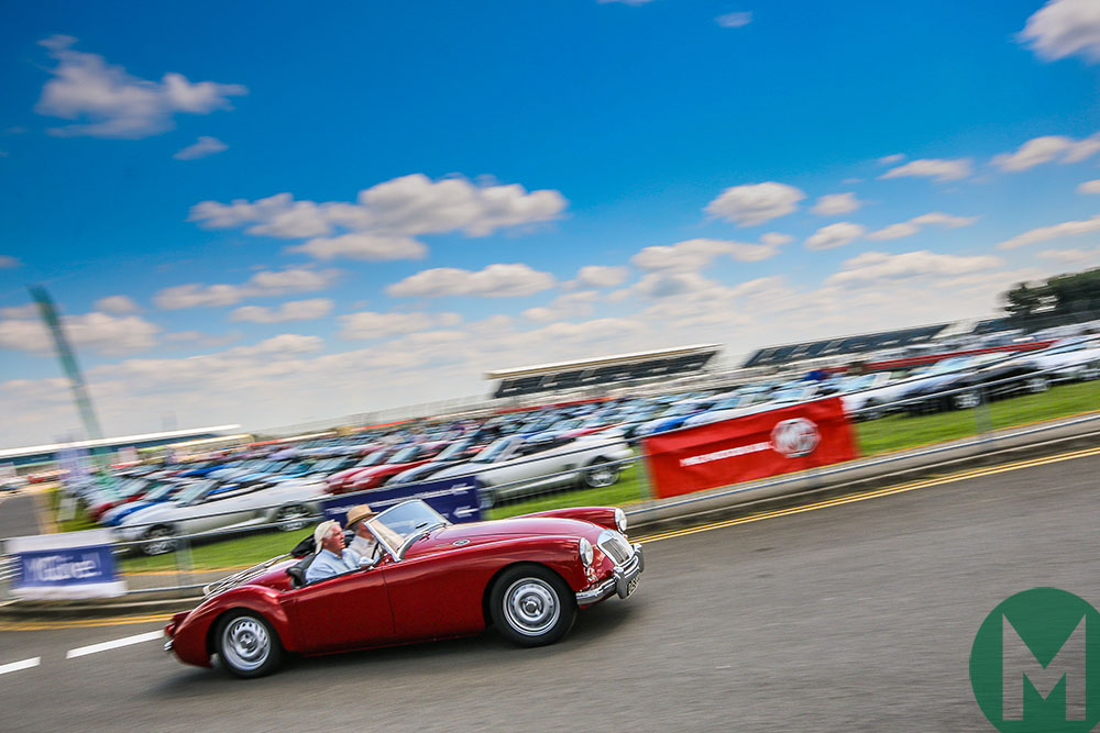 MG Live cancelled after Silverstone resurfacing
