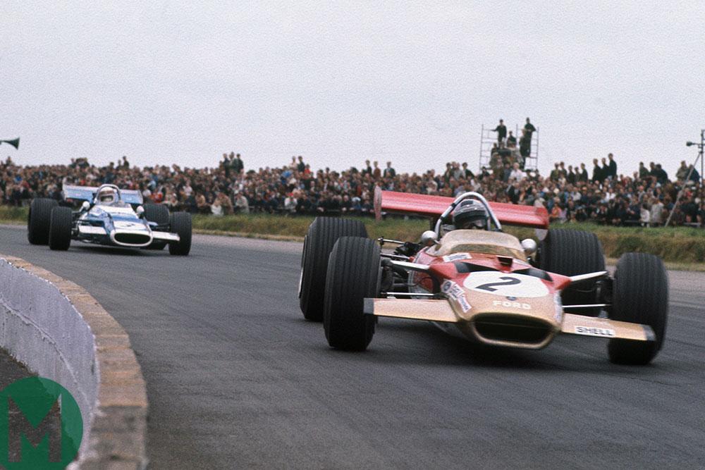 Watch Rindt and Stewart's greatest F1 battle