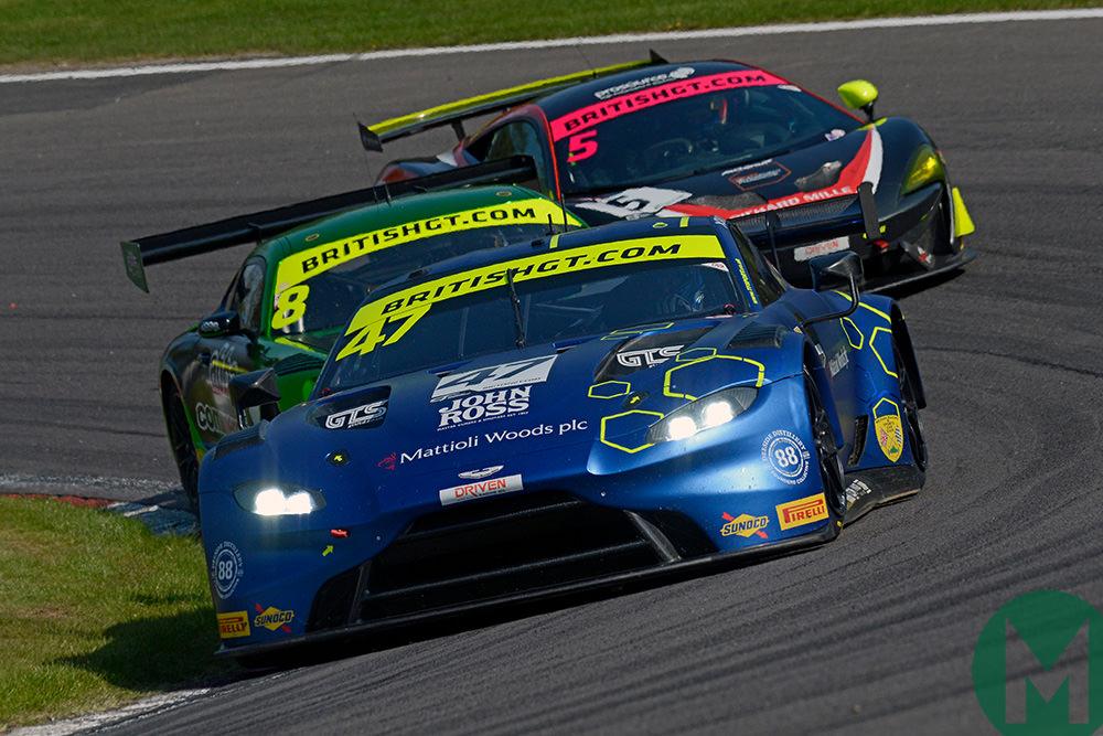 Roaring start to August as British GT returns on same weekend as BTCC